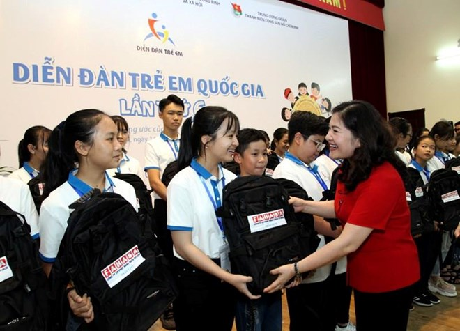 Ouverture du Forum national des enfants 2019