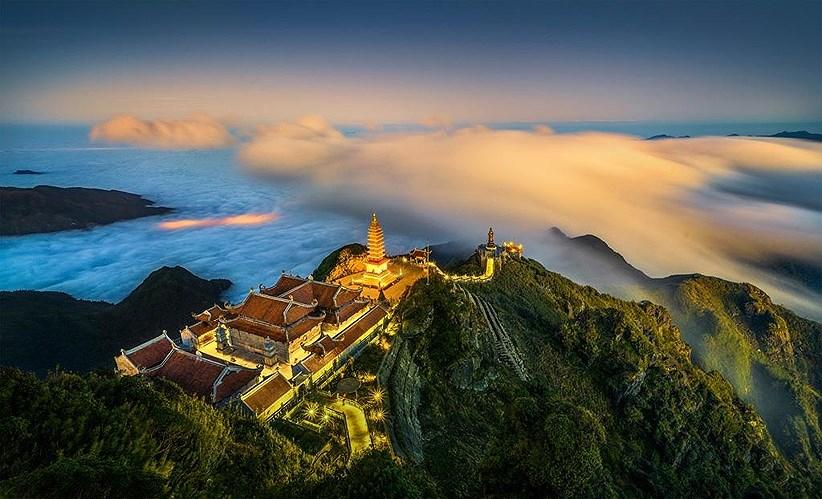 Beauté enchanteresse du Vietnam d