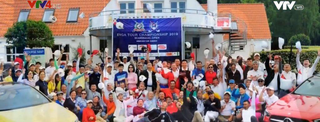 Le prix du golf de la communauté des Vietnamiens en Scandinavie