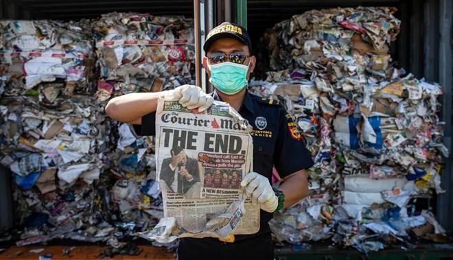 L'Indonésie renvoie 210 tonnes de déchets à l'Australie