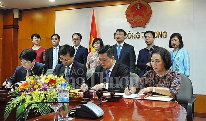 Le ministère de l'Industrie et du Commerce coopère avec MM Mega Market