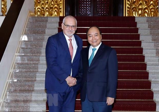Le PM reçoit le PDG de la Société financière internationale