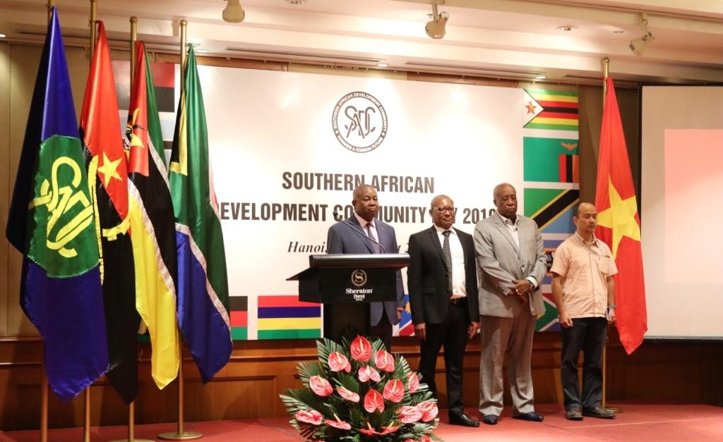«La SADC devraient étudier les expériences de développement du Vietnam»