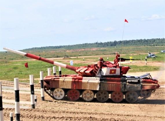 «International Army Games»: Le Vietnam remporte la deuxième place à la course de chars
