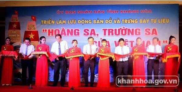 Khanh Hoa: exposition sur Hoang Sa et Truong Sa