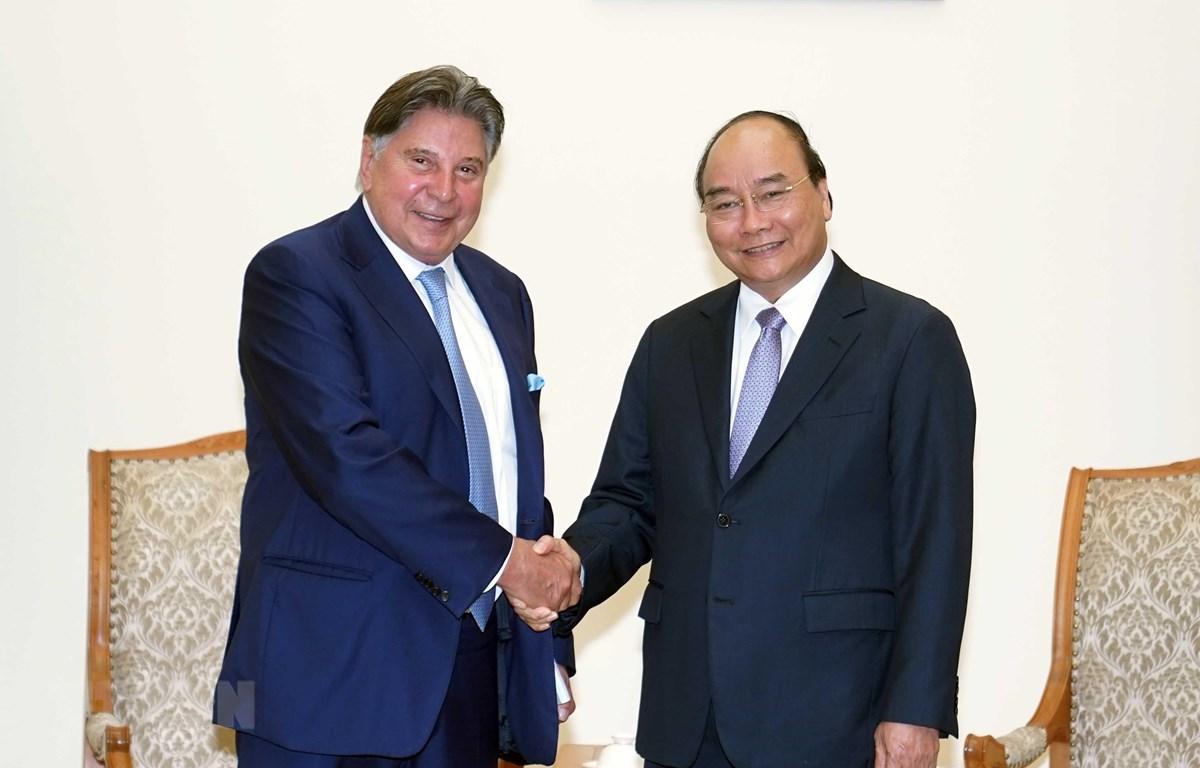 Le Premier ministre Nguyên Xuân Phuc invite TTI à investir dans les trois grandes villes du Vietnam