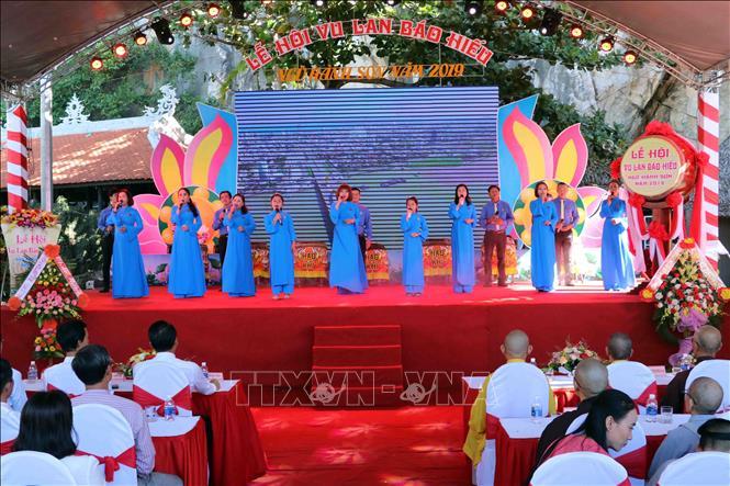 Ouverture de la fête Vu Lan - Ngu Hành Son 2019