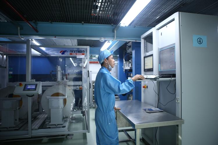 Inauguration d'une usine de fibres optiques à Bac Ninh