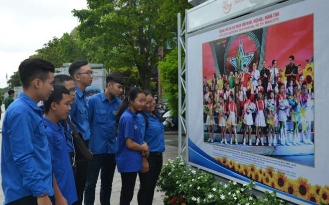 Exposition «50 ans de l'exécution du testament du Président Ho Chi Minh» à HCM-Ville