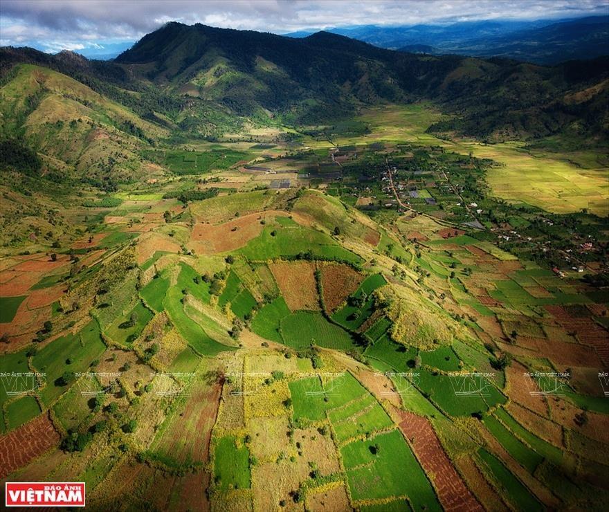 Chu Dang Ya - volcan majestueux des Hauts Plateaux du Centre