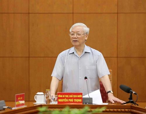 Réunion du Sous-Comité chargé de l'élaboration des documents du XIIIe Congrès national du PCV