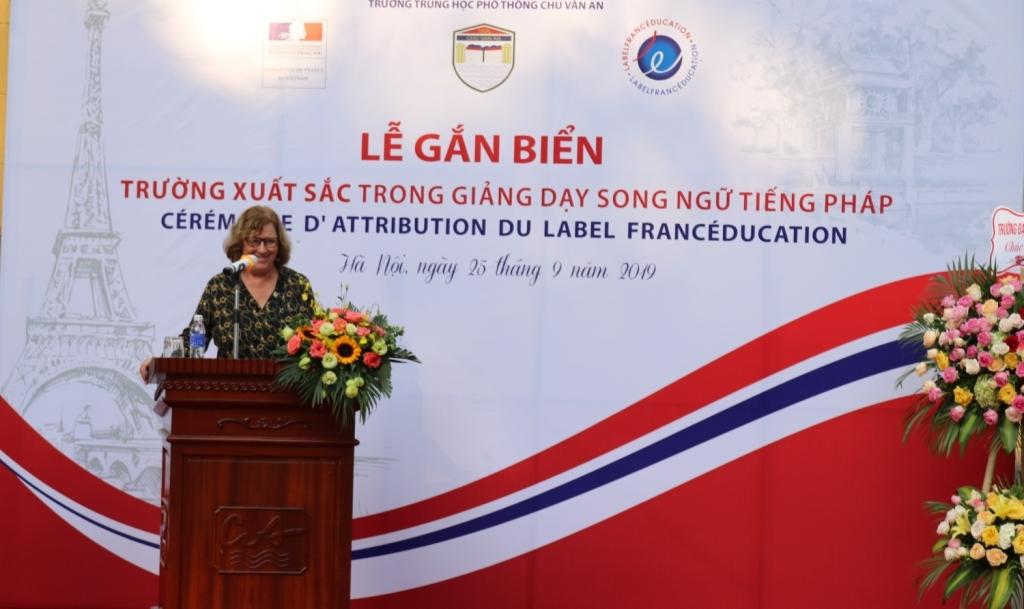 Le lycée Chu Van An figure dans la liste des établissements bilingues francophones d'excellence