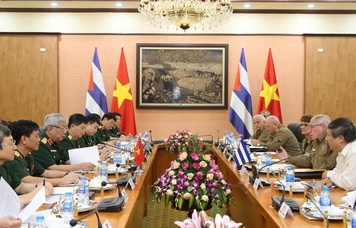 Vietnam-Cuba: 3e Dialogue sur la politique de défense à Hanoï