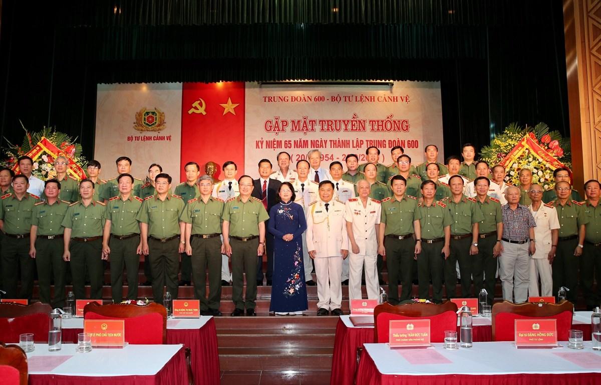Le régiment 600 – Commandement de la Garde fête son 65e anniversaire