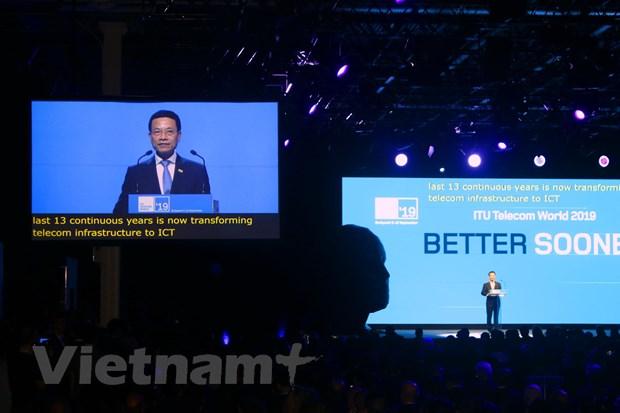 Le Vietnam participle à l'ITU Telecom World 2019 en Hongrie
