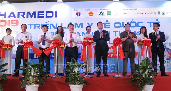 Ouverture de la 14e foire-exposition médicale internationale à Hô Chi Minh-Ville
