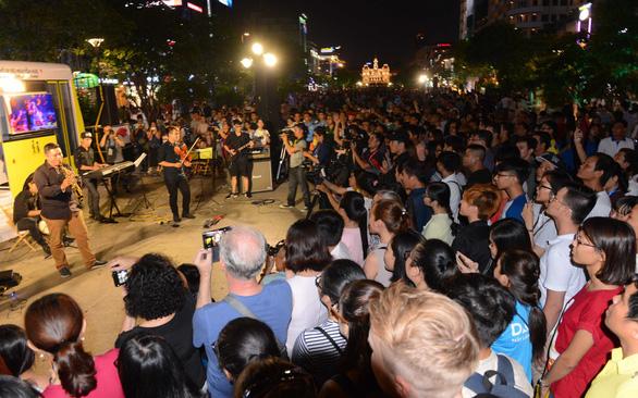 HCM-V accueille un festival international de musique