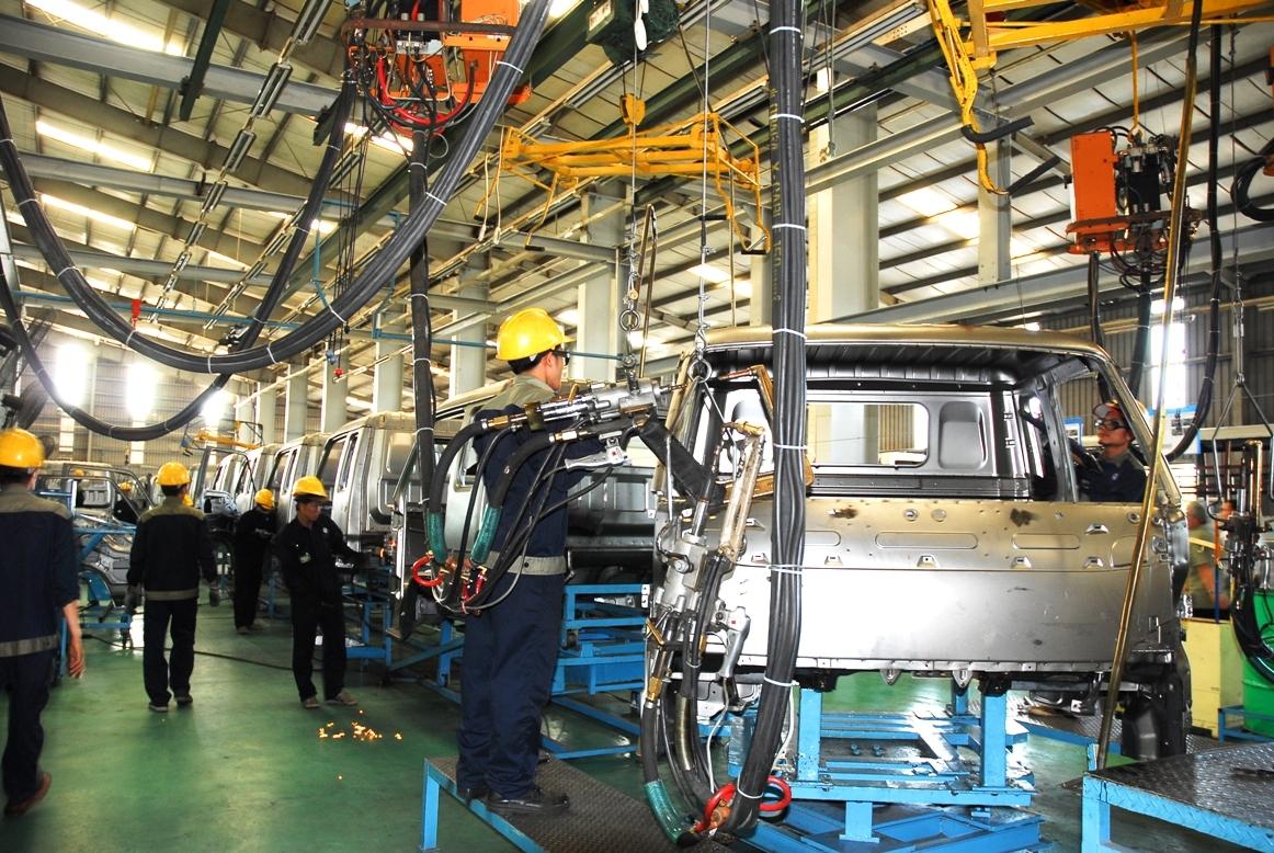 La production industrielle en 9 mois augmente de près de 10%