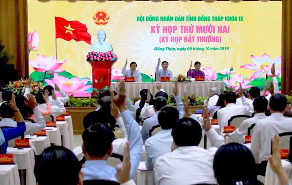 Le Conseil populaire provincial de Dong Thap adopte 15 résolutions importantes