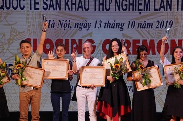 Clôture du 4e Festival de théâtre expérimental à Hanoï