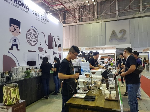 Ouverture des expositions sur la franchise et le café à Ho Chi Minh-Ville