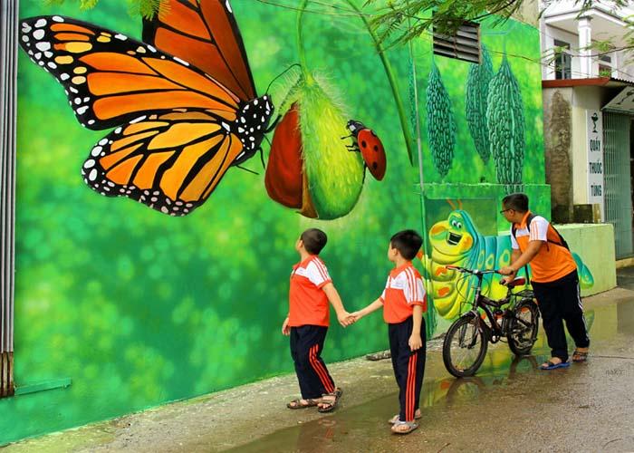 Le Daily Mai loue la beauté du village de peintures murales de Chu Xa (Hanoï)