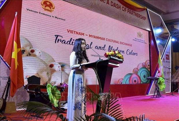 Semaine de la culture vietnamienne au Myanmar