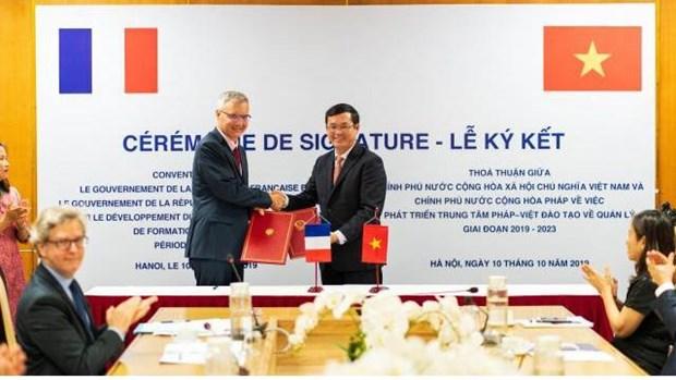 Le Vietnam et la France coopèrent pour développer le CFVG
