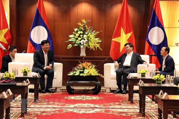 Le Premier ministre lao Thongloun Sisoulith se rend à Dà Nang