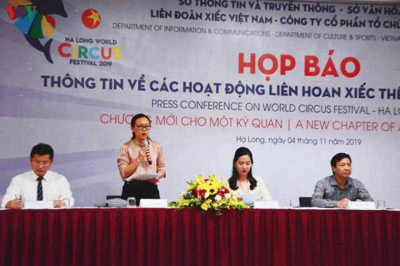 20 pays et territoires au festival international du cirque de Ha Long