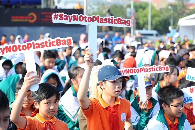 Agissons contre les déchets plastiques!