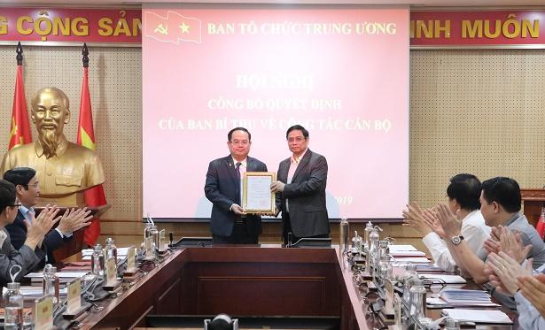 Quan Minh Cuong nommé chef adjoint de la Commission centrale d