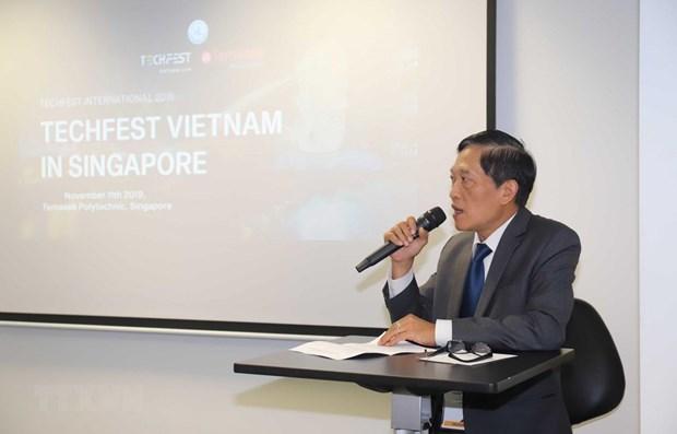 Le Vietnam promeut un écosystème entrepreneurial innovant  à Singapour