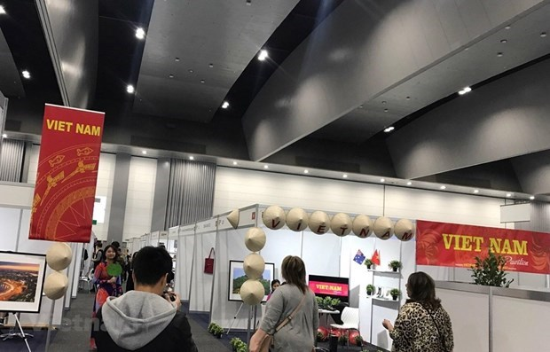 Le Vietnam à une foire internationale des produits en cuir en Australie