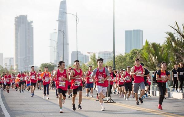 13.000 athlètes au marathon international Techcombank de Ho Chi Minh-Ville 2019