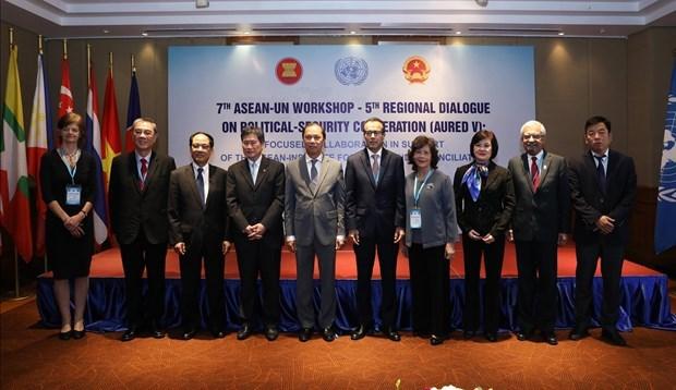 Dialogue régional ASEAN – ONU à Hanoï