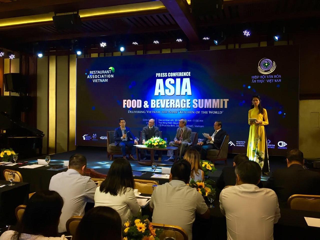 Sommet des aliments et boissons d'Asie pour promouvoir la cuisine vietnamienne