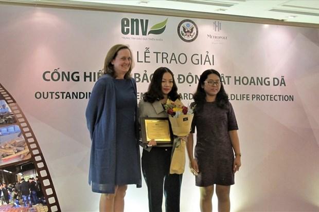 Remise des 3e Prix de la protection de la vie sauvage