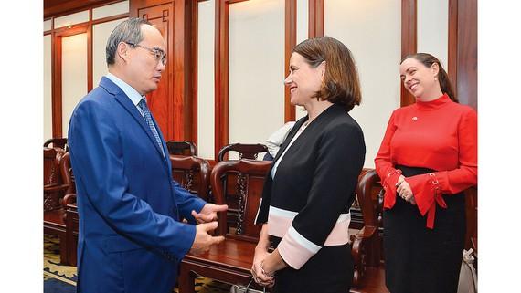 HCM-Ville souhaite renforcer sa coopération économique avec l