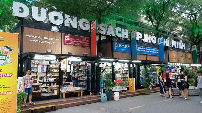 La rue aux livres de Ho Chi Minh-Ville a accueilli plus de 9,7 millions de visiteurs depuis sa création