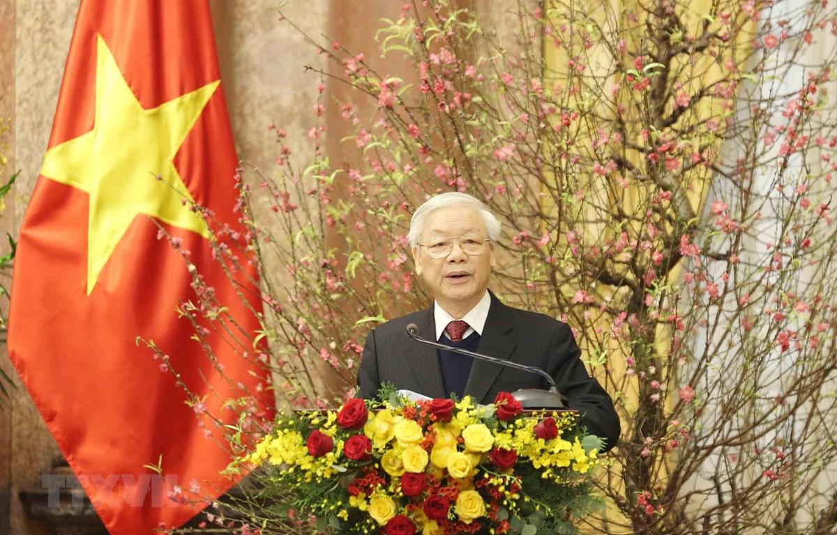 Nguyen Phu Trong appelle à mieux exploiter les potentiels pour le développement national