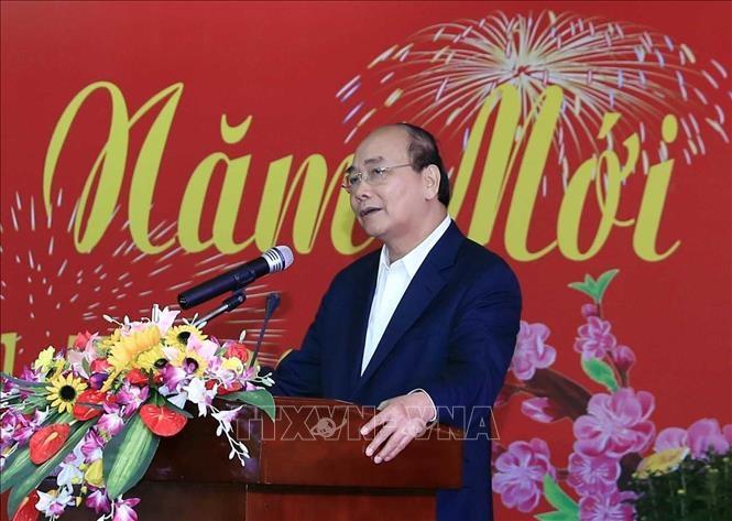 Le PM Nguyen Xuan Phuc rencontre d