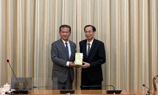 Ho Chi Minh-Ville intensifie ses relations avec la ville japonaise d'Yatsushiro