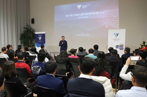 Le Réseau d'innovation de Vietnam – l'Allemagne organise son congrès fondateur