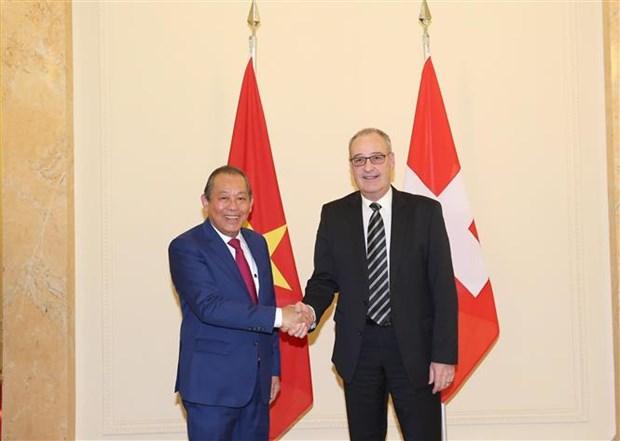 Renforcement de la coopération Vietnam-Suisse