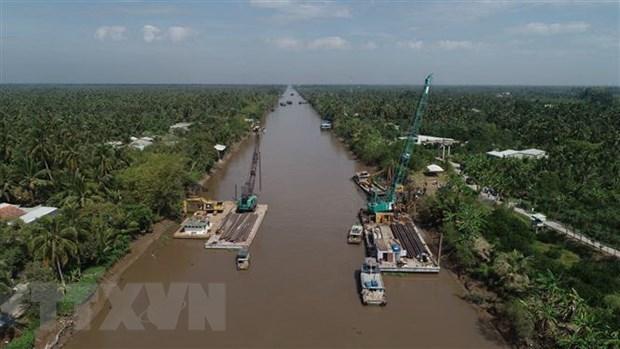 Tien Giang: plus de 7,6 milliards de dongs contre les intrusions salines