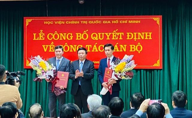 Nomination de deux directeurs adjoints de l'Académie politique nationale Hô Chi Minh