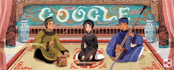 Le Ca Tru du Vietnam honoré par Google