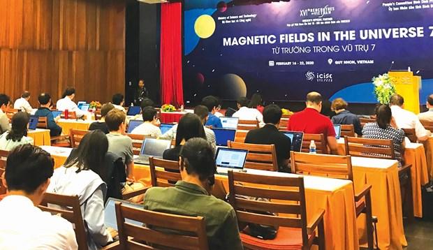 """Binh Dinh accueille la conférence """"Les champs magnétiques dans l"""