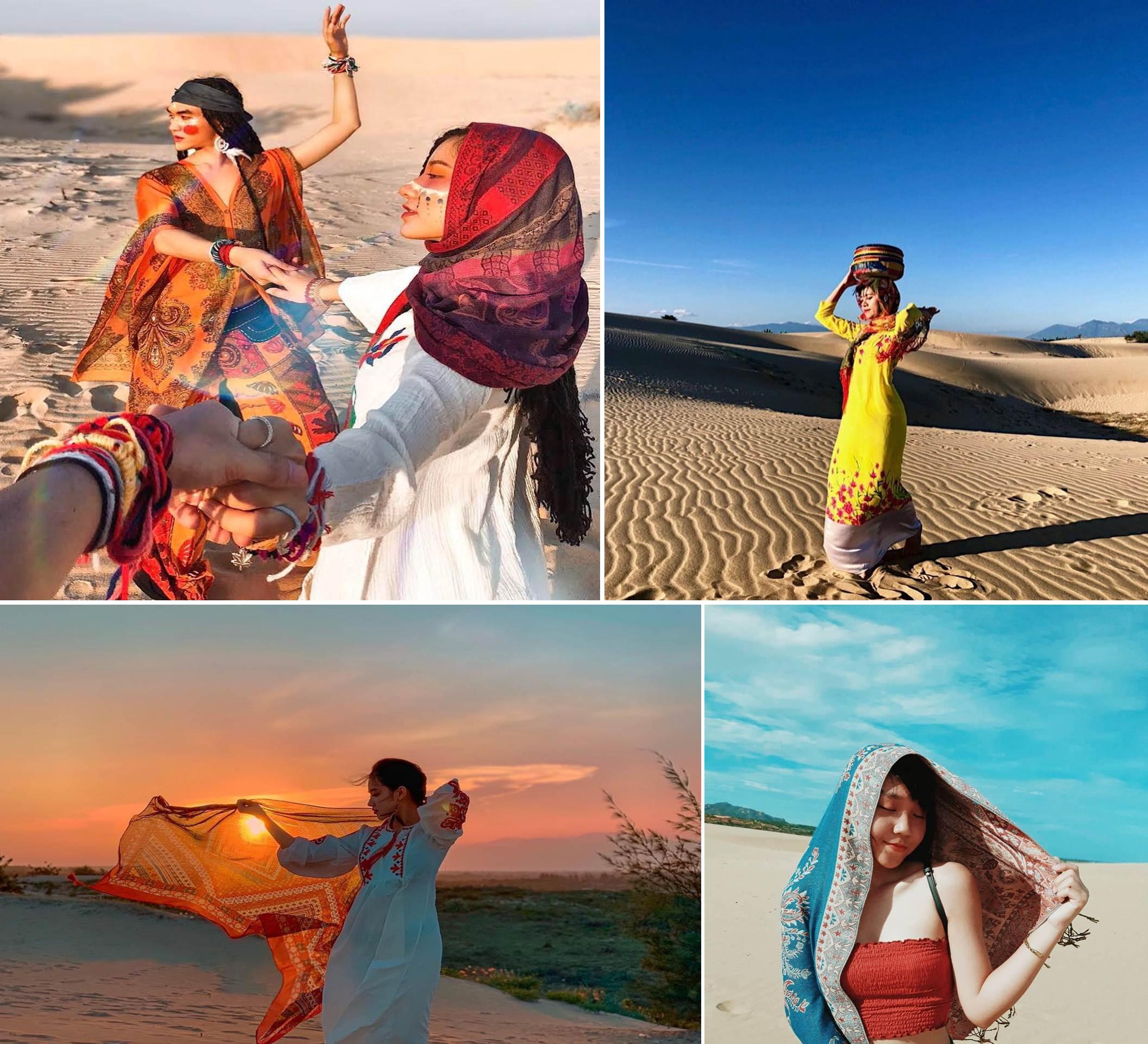 [Photo] Les dunes qui captivent les touristes